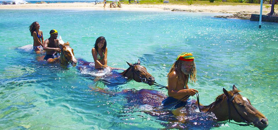 Beach Horseback Ride, Swim & White Water Rafting